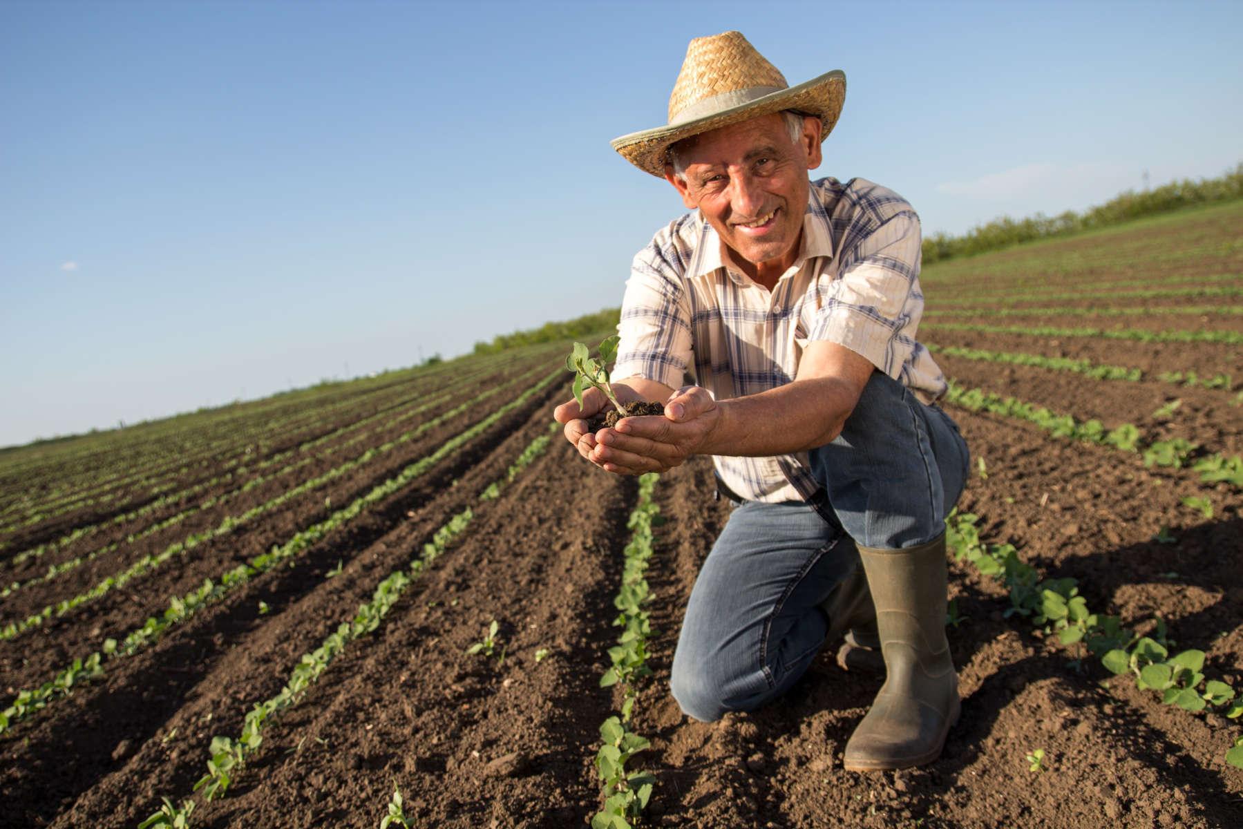 Con los agricultores
